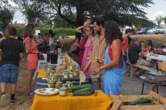 Les Ares Verts Julien et Judith: jus de pomme bio et pâtés végétaux