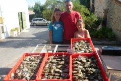 Famille Le Chaland: Huîtres de Leucate
